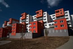 bytové domy kaskády