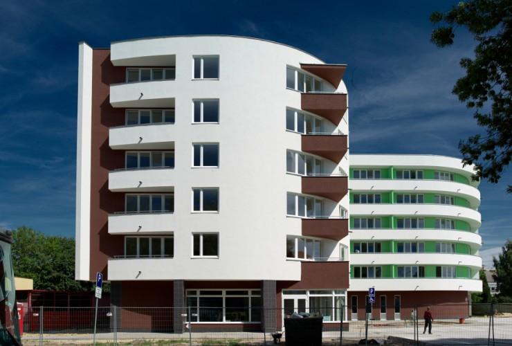 polyfunkčný bytový dom Senica
