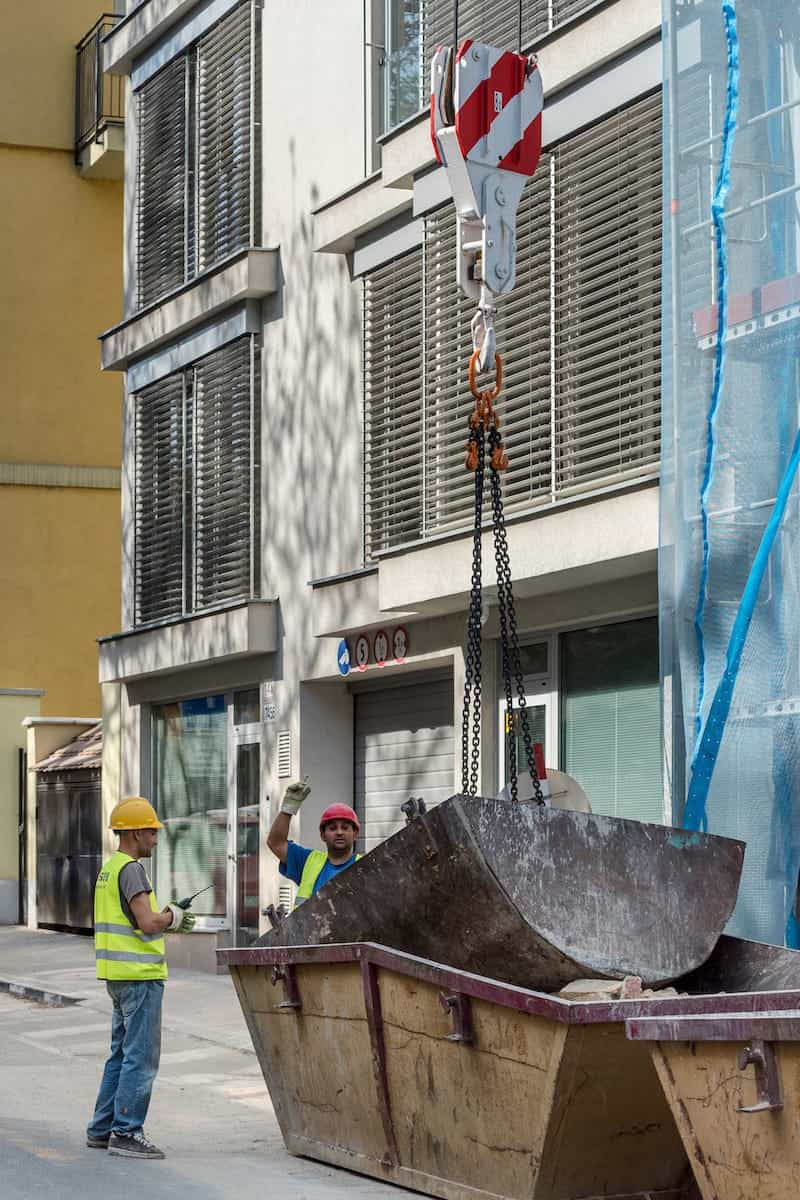 stavebné práce Zochova