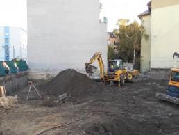 počas výkopových zemných prác Koceľova, Bratislava