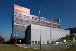 hrubá stavba baumax, Bratislava