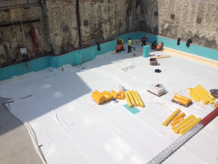 hydroizolácia základovej jamy na zochovej