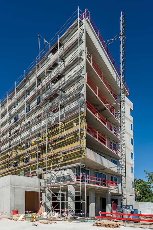 hrubá stavba objektu Lilja projekt Nuppu