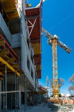 objekt Lilja, Nuppu - počas výstavby nosnej železobetónovej konštrukcie