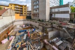 sasinkova ul. 21 stavebné práce na základoch